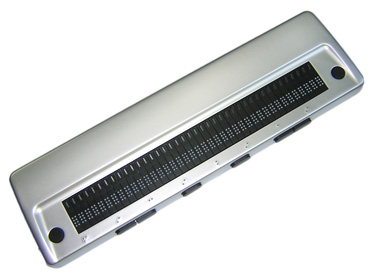 Photo of the Seika 40-Cell USB Braille Display for $895.00 USD - Flying Blind, LLC Online Store