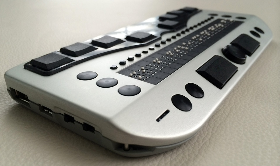 Photo of the Vario Ultra 40 Cell Braille Display for $2,995.00 USD - Flying Blind, LLC Online Store