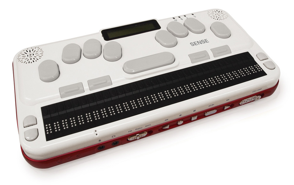 Photo of the Braille Sense U2 32 Cell Notetaker with Braille Keyboard for $3,595.00 USD - Flying Blind, LLC Online Store