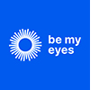 Be My Eyes logo.