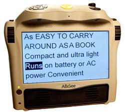 Photo of the Eyepal Ace Portable Scan and Read System for $1,895.00 USD - Flying Blind, LLC Online Store.