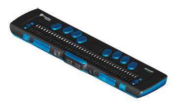 Photo of the Focus 40 Blue Refreshable Braille Display for $2,295.00 USD - Flying Blind, LLC Online Store.